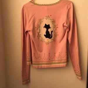 Sweaters - Black Cat Cardigan